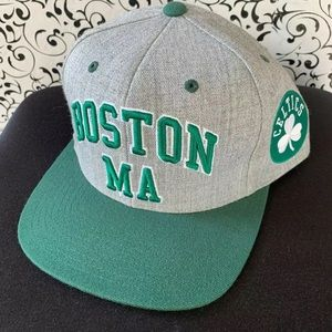 Boston Celtics Mitchell and Ness Adjustable Hat